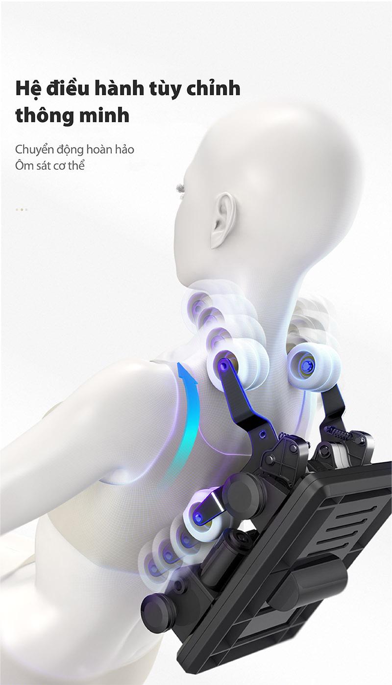ghế massage công nghệ nhật bản