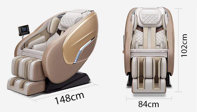 Kích thước ghế massage Akira AR K8