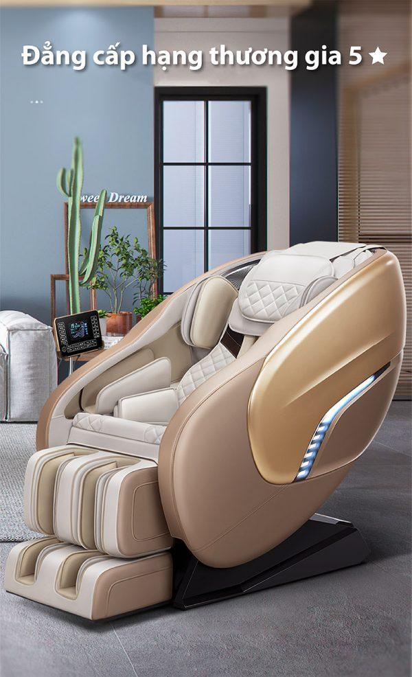 Akira K8 là một ghế massage đẹp với thiết kế hiện đại