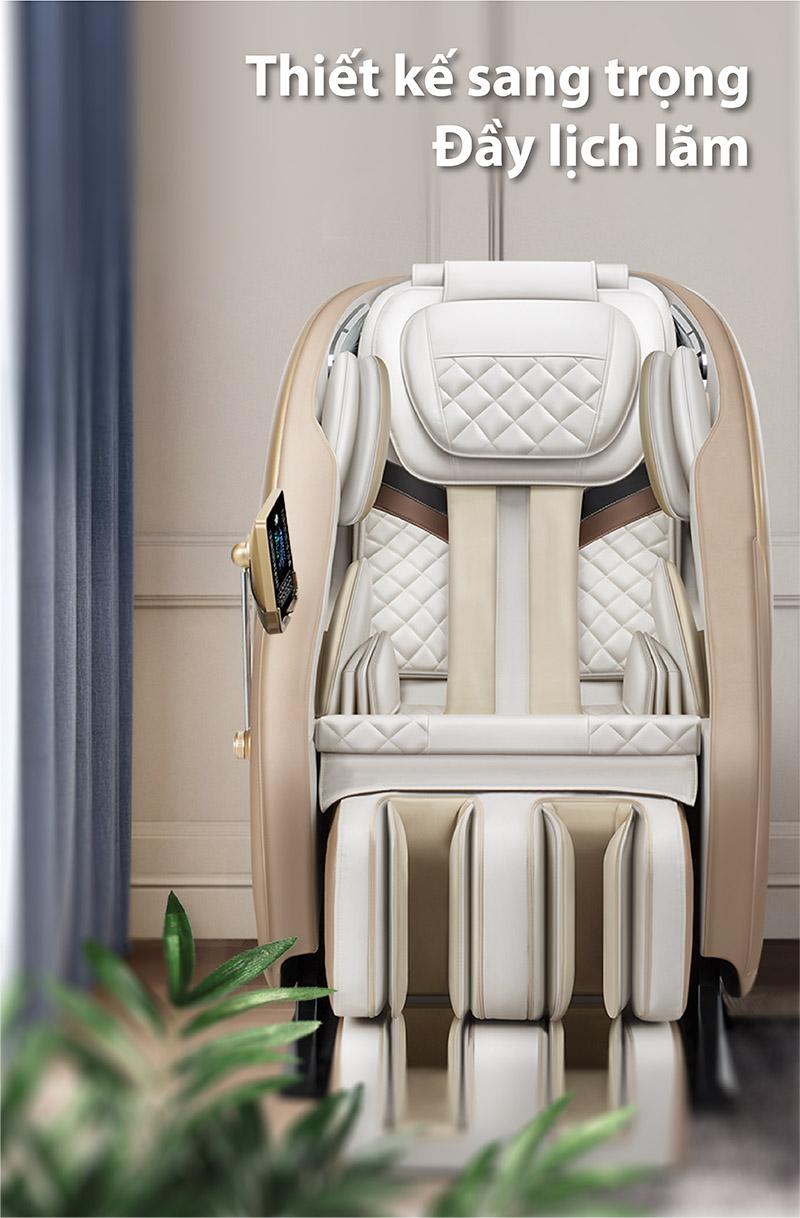 Akira K8 là một ghế massage đẹp cùng thiết kế sang trọng
