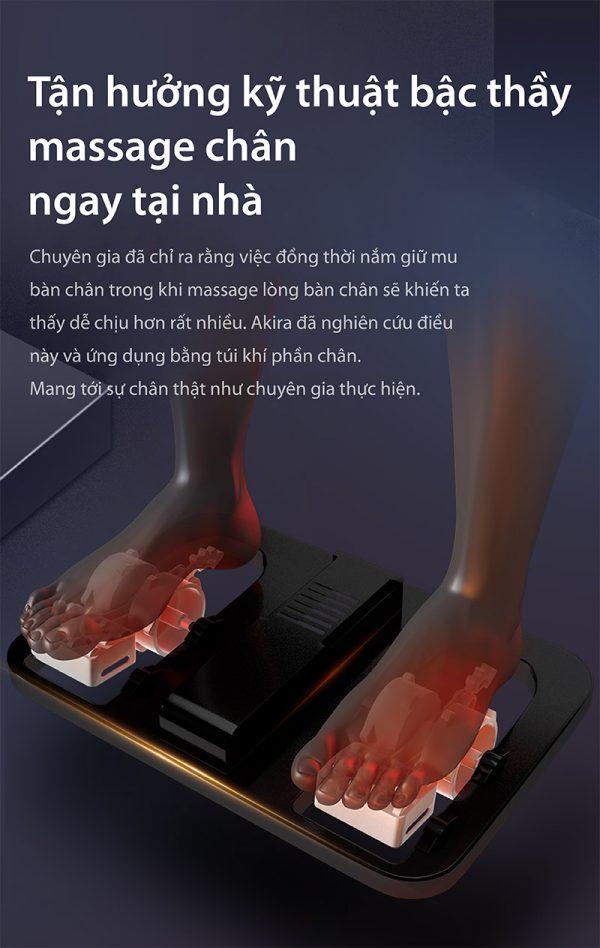 ghế massage chân tốt nhất cao cấp