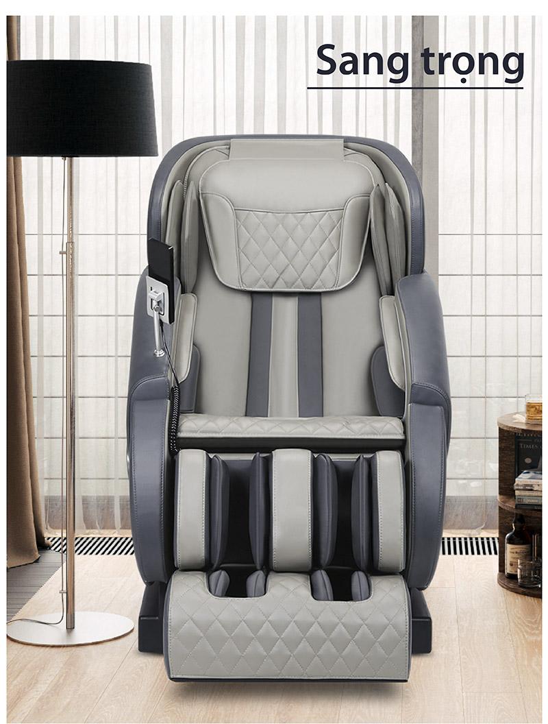 mẫu ghế massage cao cấp có thiết kế đẹp sang trọng