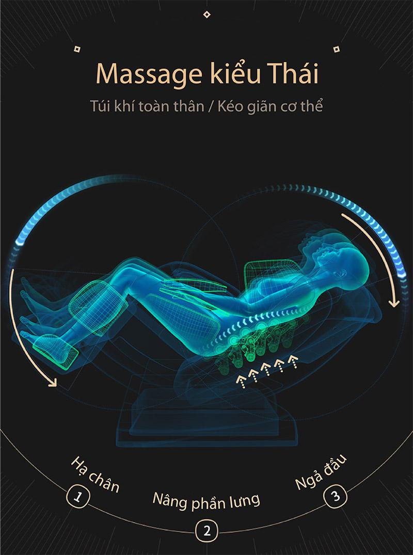 trải nghiệm massage kiểu THái với Akira Z6