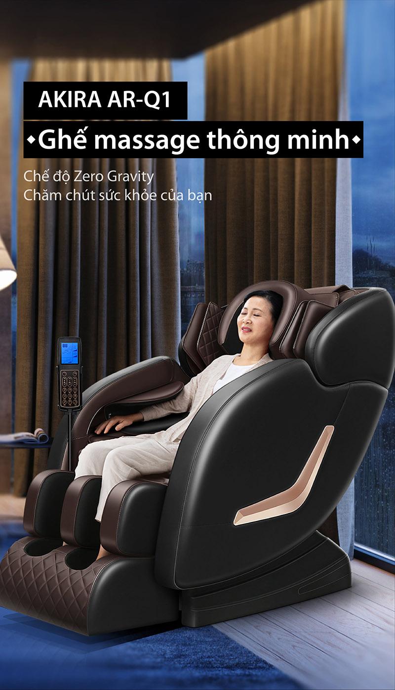 Ghế massage toàn thân Akira Q1