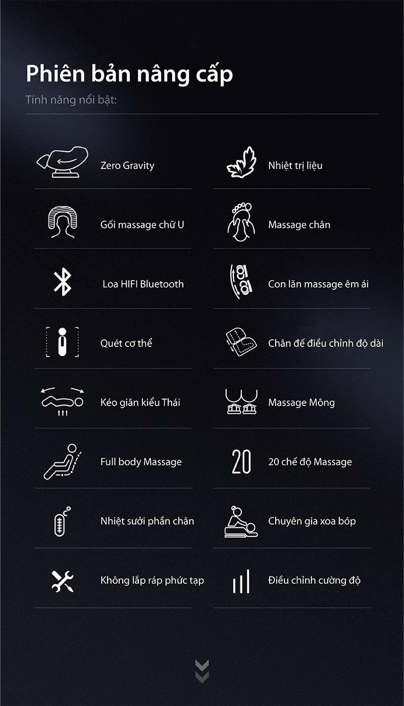 tính năng ghế massage cao cấp akira ar q1