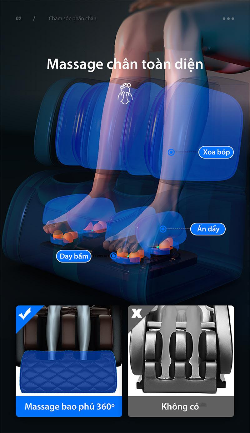 ghế massage chân Akira AR Q1