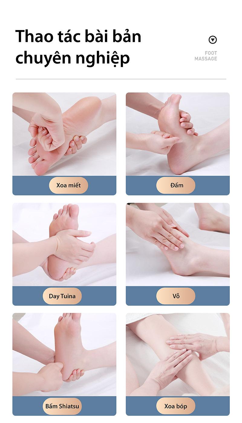 Ghế Akira Q1 với các thao tác massage chuyên nghiệp
