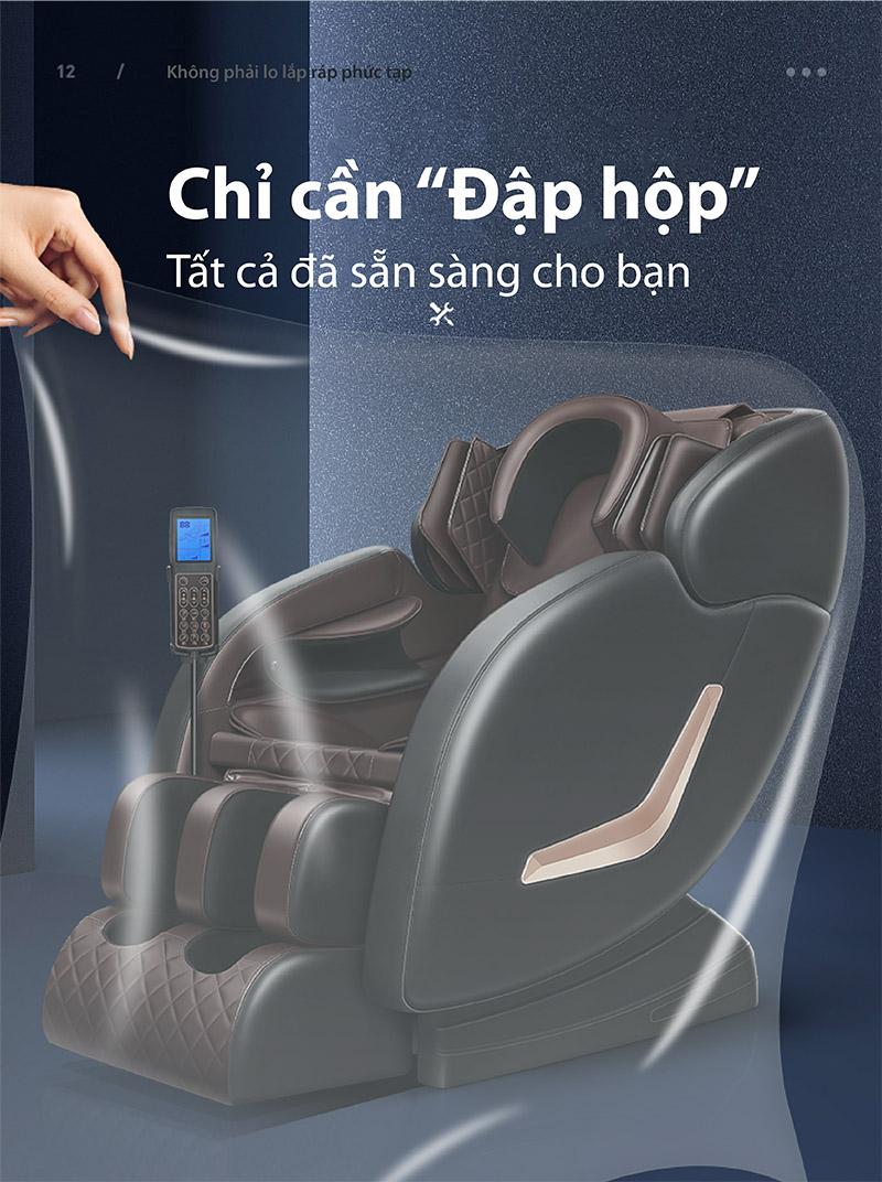 ghế massage lắp ráp trọn gói tận nhà