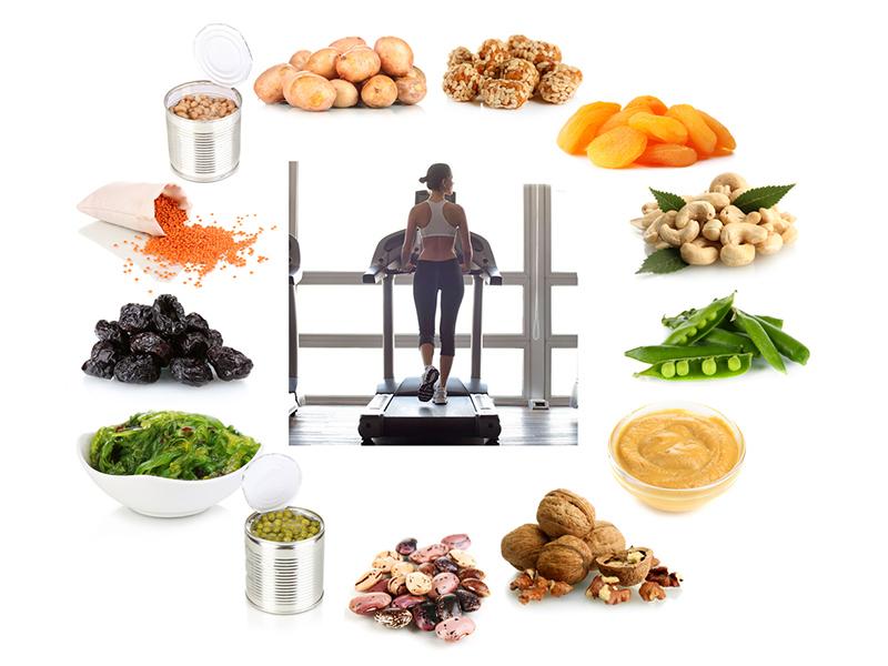 Chế độ ăn uống khi sử dụng máy chạy bộ