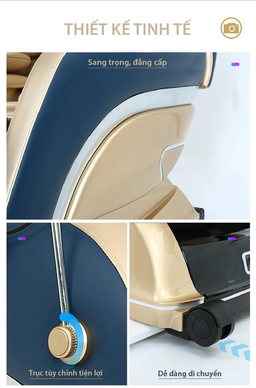 Ghế massage Akira S5 thiết kế tinh tế sang trọng và thông minh