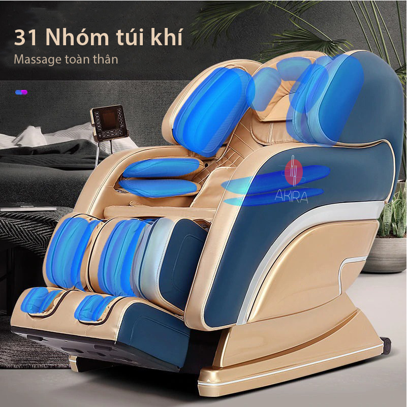 Ghế massage S5 có 31 nhóm túi khí