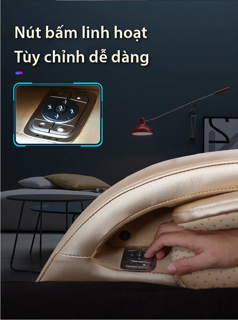 AR S5 thiết kế nút bấm linh hoạt