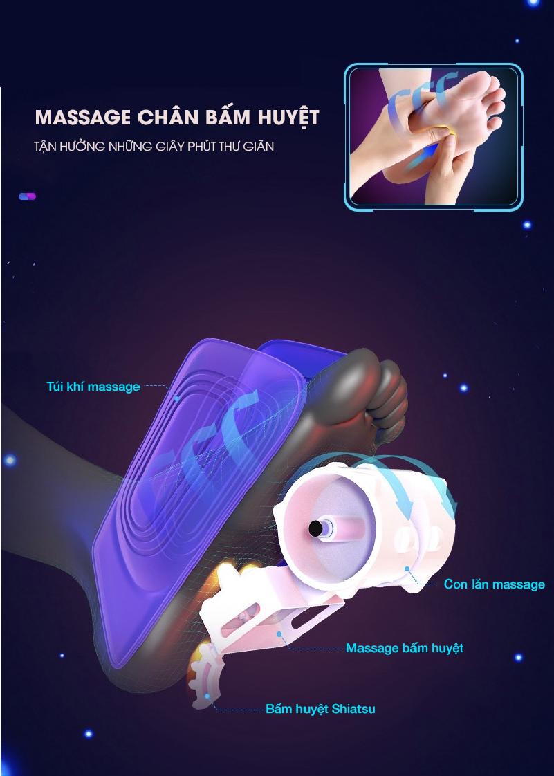 Massage bấm huyệt với Akira S5